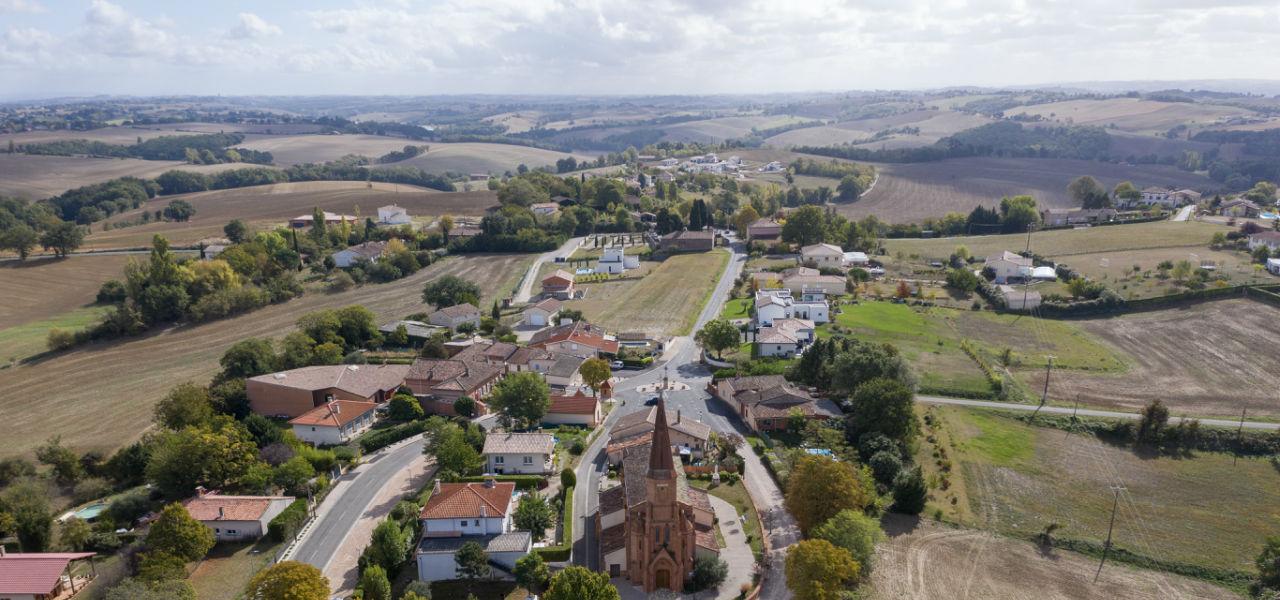 Terrain à vendre à Saint-Jean-Lherm - Coeur de village