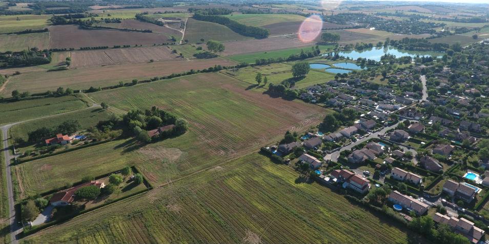 Terrain à vendre à Sainte-Foy-d'Aigrefeuille - Le clos Molinier